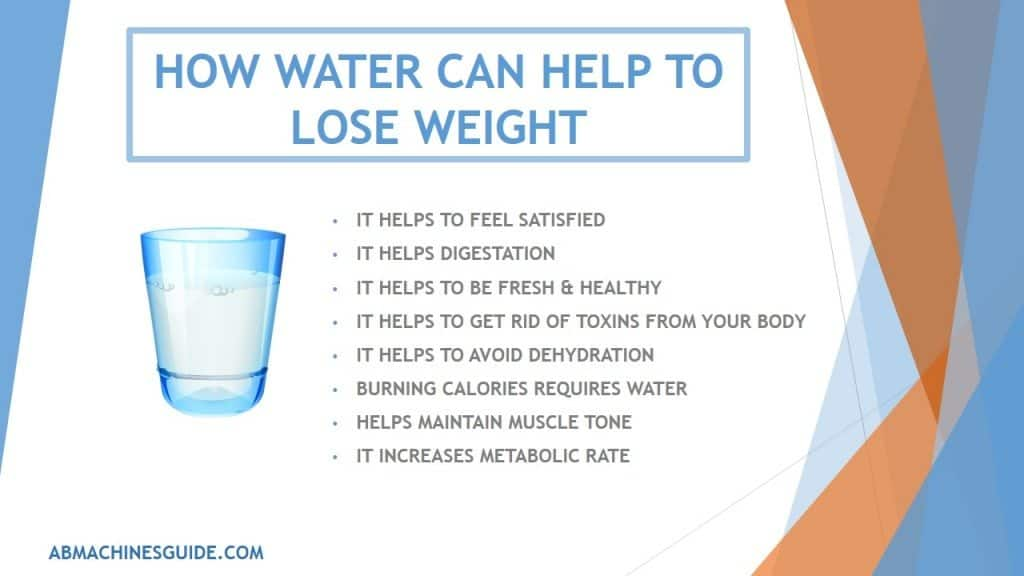 Benefits of Drinking Water - Help you to Lose Weight