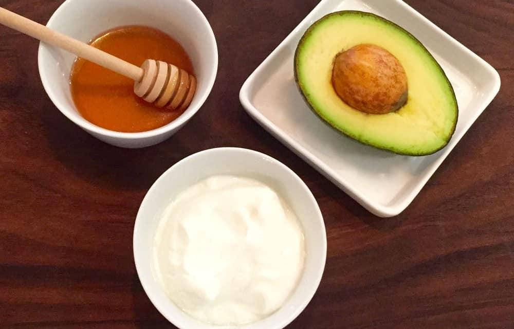 Avocado, Honey and Yogurt Facial Mask