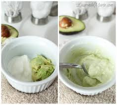 natural avocado face mask