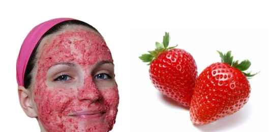 Exfoliating Strawberry Mask - Brighten Dull Skin