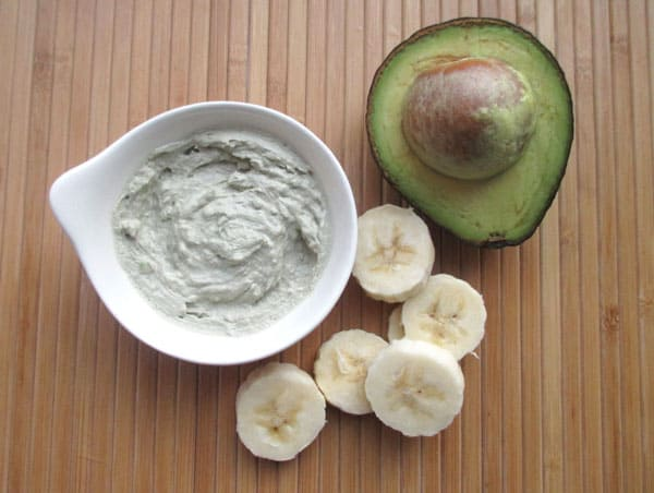 Avocado, Banana and Egg Facial Mask