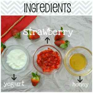 strawberry face mask fade dark spots and brighten dull skin