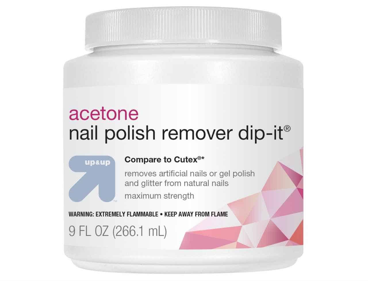 Can you use non-acetone to remove acrylic nails?