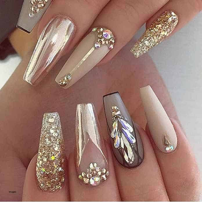 Beautiful Nail Art Designs for Coffin Nails