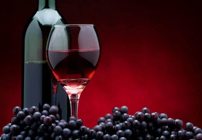 red wine and bone healing