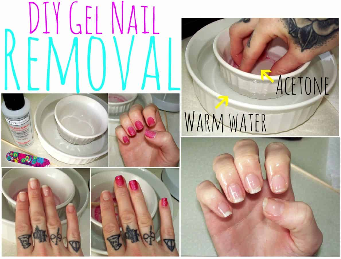 How Do You Take Off Gel Nails at Home With Acetone?